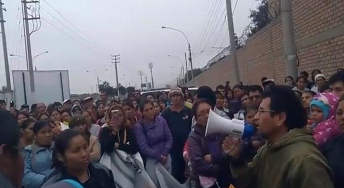 prensa la eskina callao marcha al gobierno regional por obras prometidas