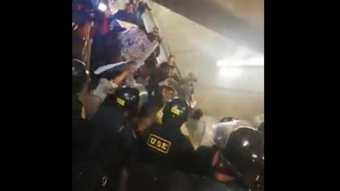 prensa la eskina callao estacion centro civico protesta