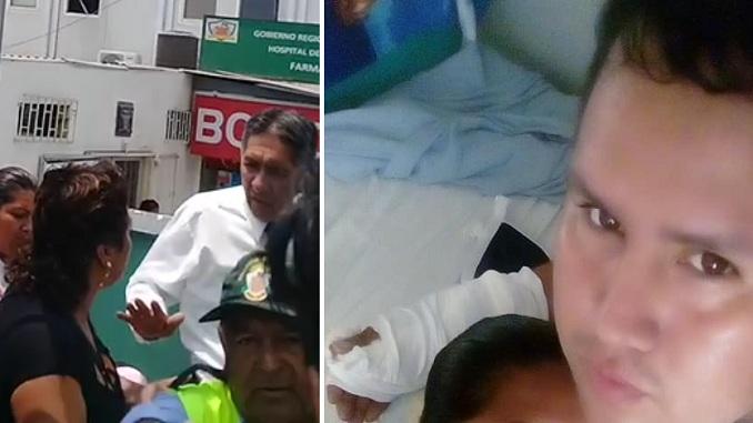 prensa la eskina callao joven podria perder la mano en hospital de ventanilla