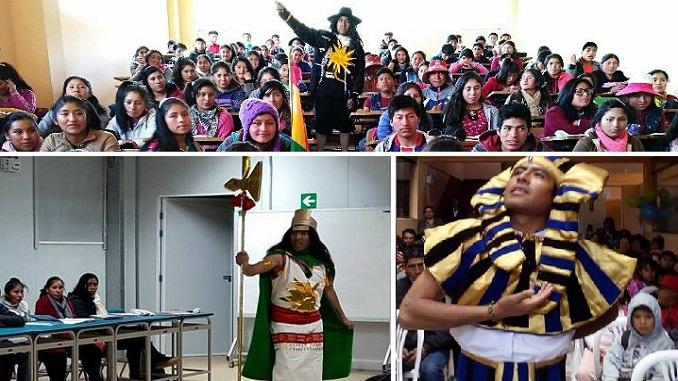 prensa la eskina callao ventanilla el profesor que se viste de mil personajes para enseñar historia del peru