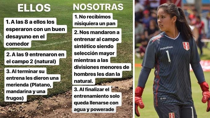 prensa la eskina callao ventanilla maryory sanchez arquera seleccion de futbol