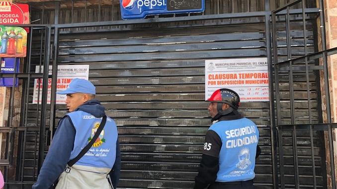 prensa la eskina callao negocios clausurados por falta de licencias o higiene