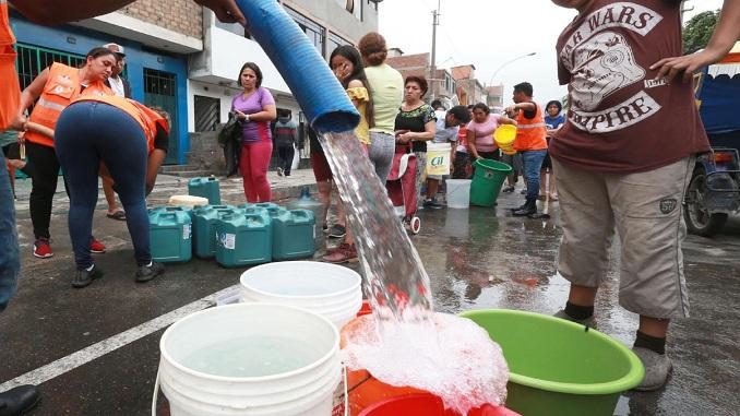 prensa la eskina callao ventanilla puntos de distribucion de agua